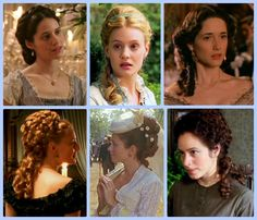 Elegance of Fashion: Wednesday: Guest Post by Melody and Miss Laurie - Historic Hairstyles - Period Drama Fashion Week (Late-Victorian Hairstyles) -- upper right corner or lower left corner Victorian Era Hairstyles, 1800s Hairstyles, Historical Hairstyles, Retro Hairstyles, Formal Hairstyles, Wedding Hairstyles, Crimped Hairstyles, Edwardian Hair, Steampunk Hairstyles