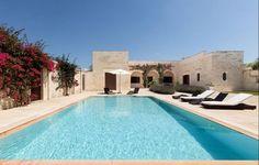 pool at Masseria Il Trullino