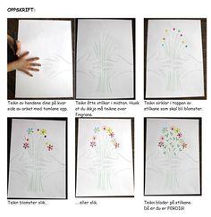 Kunst og handverk med TE: Picasso blomsterbukett