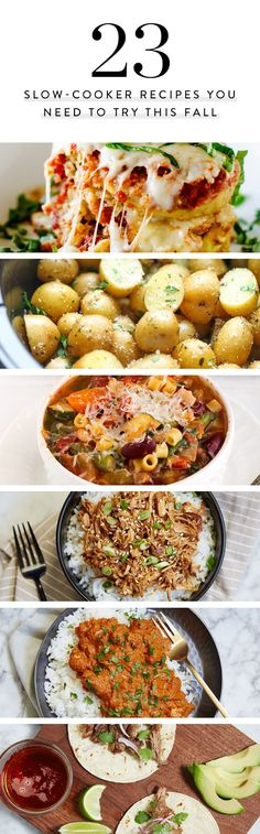 23 Slow-Cooker Recipes You Need to Try This Fall via @PureWow