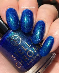 ehmkay nails: Stella Chroma Where the Sky Meets the Ocean, Group Custom