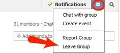 How to Leave a Facebook Group