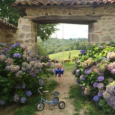 A bit about our house in the Cantal, France