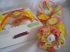 adorable diaper cakes