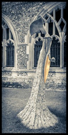 Sculptures in Paradise by Philip Jackson at Chichester Cathedral