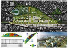 Ganador Concurso Playa Ferroviaria Liniers intervencion urbana recomendados concurso arquitectura argentina Plan Maestro, Urban Planning, City Photo, How To Plan, Masters, Google, Model, Pageants, Architecture