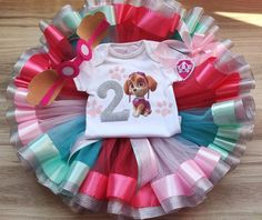 Paw Patrol Skye Birthday Girl tutu outfit, Skye birthday party tutu set, Personalized Birthday Skye Paw Patrol Shirt Tutu and Headband. Paw Patrol Birthday Girl, Baby Girl 1st Birthday, 1st Birthday Outfits, Minnie Birthday, Birthday Tutu, Tutu Outfits, Baby Tutu, Tutus For Girls, Special Birthday