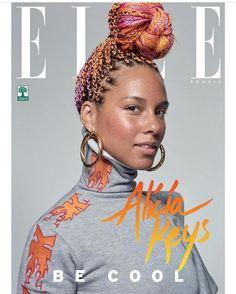 Alicia Keys pryder inte ett omslag av Elle Brasils senaste nummer, utan fyra. Hon e så mäktig, känner detsamma om Elle Brasil som tar ett sådant beslut. 2017 måste vi sätta kvinnor och andra...