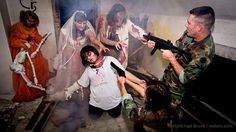 Zombie Shoot 2011 by Michael @ NW Lens, via Flickr
