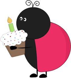 Birthday Ladybug Party Clip Art - Birthday Ladybug Party Image