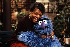Retweeted by Emmett Pickett     Sesame Street @Sesame Street 1h      We're saddened by the passing of our friend Maya Angelou. Thank you for all you've done, and for all the hugs. pic.twitter.com/kmLCN59Uef