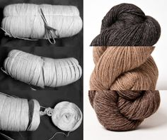 unspun, undyed #yarn // love