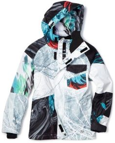 SNOW Boys 8-20 Travis Rice Youth Jacket $150 - Super Quick Cute
