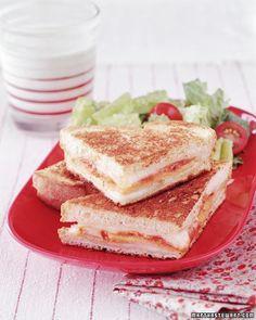 Grilled Turkey Parmesan Sandwich - Martha Stewart Recipes