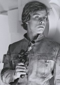 Mark Hamill as Luke Sywalker - The Empire Strikes Back