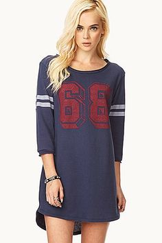 50 Embarrassment-Free Alternatives to Your Sweatpants: Add this Forever 21 Fresh 86 Sweater Dress ($20) to leggings, or make it your favorite sleep shirt.
