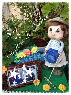 Fofucha jardinera.