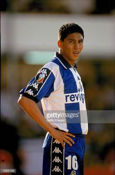 Jardel of FC Porto during the Portugese League Match against Gil Vicente at Adelino Ribeiro Novo in Barcelos Portugal Gil Vicente won the match 2 Porto City, Fc Porto, Porto Portugal, Football, Blue And White, Soccer, Futbol, American Football, Soccer Ball