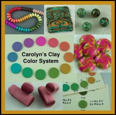 Carolyn's Clay Color System - $20 USD - I just purchased this tutorial and I'm very impressed. Carolyn not only demonstrates how to mix colours using easy techniques but also has an excellent library system on how to store and categorise all the colour samples that you make for easy reference later. I have no affiliation at all with Carolyn. I am just a happy customer who can highly recommend her tutorial.