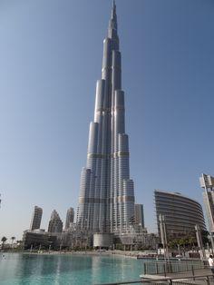 Burj Khalifa skyscraper which I visited