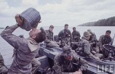 Vietnam War colour photos