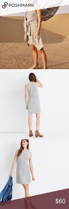 Madewell Valley Chunky knit Sweater Dress I bought this dress on posh and unfortunately it's a little too small. It's so adorable, and in perfect condition! Madewell Dresses Mini