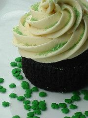 Thanks, Jenna! Get ready for St Patty's Day everyone!  Vegan Guinness Cupcakes with Bailey's Irish Cream frosting