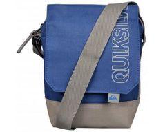 Quiksilver Across Body Small Bag Messenger Blue Grey Fashion Designer New KRMBA3…