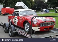 MGB, DRX 255C which took second in class at Le Mans in 1965 being crewed by Paddy Hopkirk and Andrew Hedges
