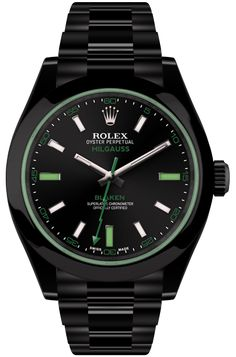 Schwarze Rolex Green Viper | Blaken