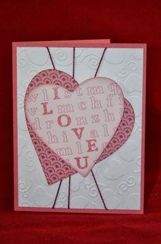CTMH Valentine.  Cri-Kits.  Word search.  ScrappyHorses.ctmh.com