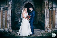 BLYTH WINTER WEDDING | BLYTH CHURCH | ARCHWAY | APRIL & TOM