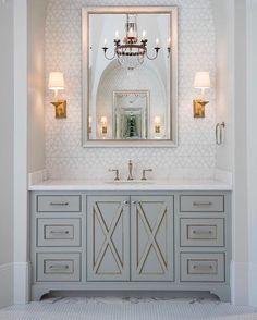 35 ideas for elegant master bathroom decor interior design Bathroom Interior Design, Interior S, Decor Interior Design, Interior Decorating, Upstairs Bathrooms, Master Bathrooms, Basement Bathroom, Washroom, Bath Design