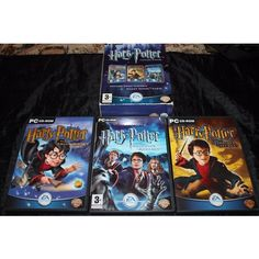 Harry Potter Collection - PC-CD Rom Triple Pack - 3 PC Games