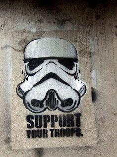 Star Wars en el arte urbano