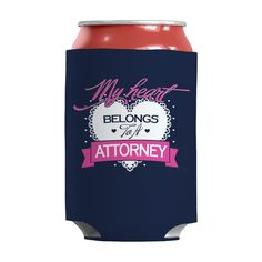 Limited Edition - My Heart Belongs to A Attorney