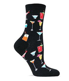 Hot Sox Women's Originals Tropical Drinks Trouser Socks, Black, Medium Hot Sox http://www.amazon.com/dp/B00AAOLXGG/ref=cm_sw_r_pi_dp_TOqGub0T1HY6B