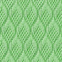 Pine Cone Stitch, free knitting stitch pattern, just Knits and Purls! The stitch would be great for socks, scarves, and hats! Dishcloth Knitting Patterns, Knitting Stiches, Knit Dishcloth, Knitting Videos, Knitting Charts, Loom Knitting, Knit Patterns, Free Knitting, Stitch Patterns
