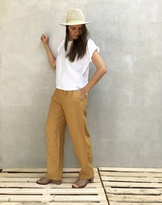 4dce040499d Comfortable and versatile linen pants for every day comfort be it at work