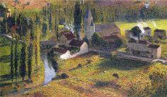 Village Labastide du Vert - Henri Martin
