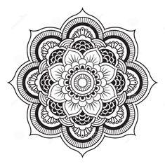 New flowers pattern tattoo henna mehndi 30 Ideas Maori Tattoos, Atrapasueños Tattoo, Marquesan Tattoos, Mandalas Painting, Mandala Artwork, Mandalas Drawing, Mandala Coloring Pages, Easy Mandala Drawing, Art Mandala