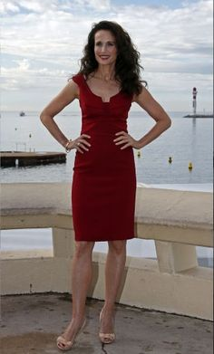 """Andie MacDowell April 21, 1958, 12:00 PM (unknown) In:Gaffney (SC) (United States) Sun: 1°05' Taurus   Moon:29°28' Taurus   Dominants: Taurus, Pisces, Aquarius Venus, Mars, Jupiter Earth, Fire / Fixed Chinese Astrology: Earth Dog Numerology: Birthpath 3 Height: Andie Macdowell is 5' 8"""" (1m73) tall"""