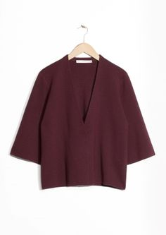 & Other Stories | Oversized Knit Cardigan