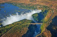 Victoria Falls Bridge, Victoria Falls, on the border of Zambia and Zimbabwe.
