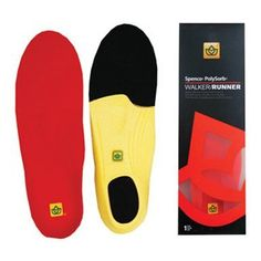 Spenco PolySorb Walk & Run Tennis Shoe Insoles (1) by Spenco. $18.78. FSP00100. Thickness: 7.5 mm at heel; 6.8 mm at 6.8 mm. Hand-washable in warm water; Air dry. 1 pair of insoles (2) per pack. One-year guarantee. The Spenco Polysorb Walker/Runner replacement insoles are recommended for walkers, runner, and joggers seeking additional comfort and cushioning. These insoles increase shock absorption and add heel strike protection.They feature 4-way stretch fabric with Sil...