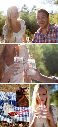 picnic + love the dress!