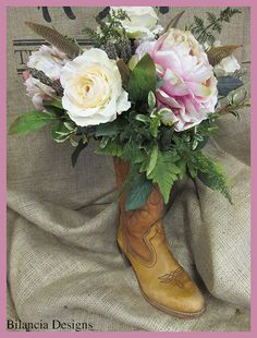 Bilancia Designs Cowgirl Wedding Line
