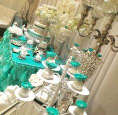 Tiffany Blue Quinceañera Party Ideas | Photo 1 of 18
