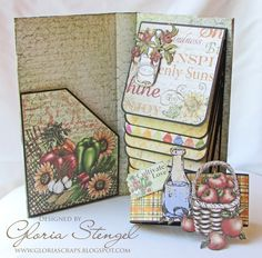 Welcome to another Heartfelt Creations Wednesday! I am working with the NEW Farmers Market Collection , plus the Classic Sunflower Collec...