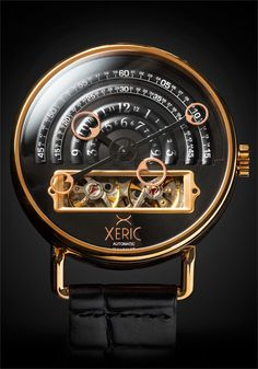 Xeric Halograph Rosegold Automatic Watch